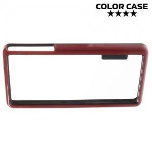 Силиконовый бампер для Sony Xperia Z3 Compact D5803 - Красный