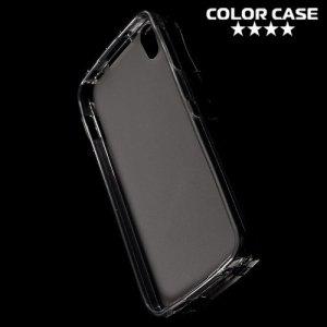 Силиконовый чехол для Alcatel Idol 4 - Матовый Серый