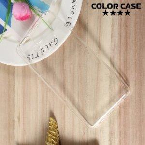 Силиконовый чехол для Asus ZenFone 3 Zoom ZE553KL - Глянцевый Прозрачный
