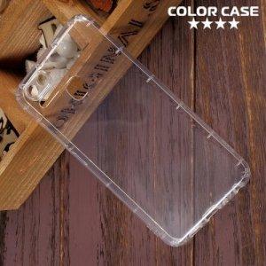 Силиконовый чехол для Asus ZenFone 3 Zoom ZE553KL противоударный - Прозрачный