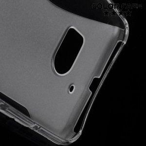 Силиконовый чехол для HTC 10 / 10 Lifestyle - S-образный Прозрачный