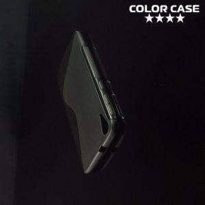 Силиконовый чехол для HTC Desire 828 - S-образный Черный