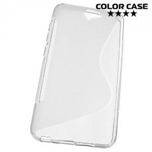 Силиконовый чехол для HTC One A9 - S-образный Серый