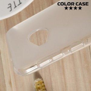 Силиконовый чехол для HTC U Play - Матовый Белый