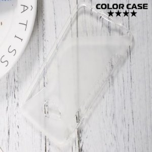 Силиконовый чехол для HTC U Play - S-образный Прозрачный