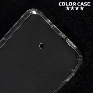 Силиконовый чехол для HTC U11 противоударный - Прозрачный