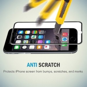 Hat-Prince 3D закругленное защитное стекло для iPhone 8/7 с черной рамкой