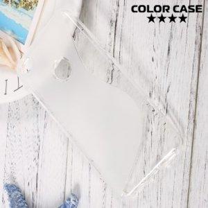 Силиконовый чехол для Huawei Honor 8 lite - S-образный Прозрачный