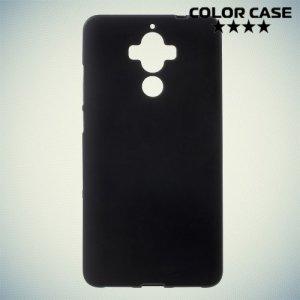 Силиконовый чехол для Huawei Mate 9 - Матовый Черный