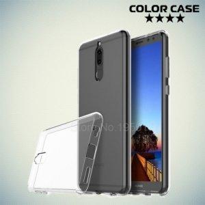 Силиконовый чехол для Huawei Nova 2i - Глянцевый Прозрачный
