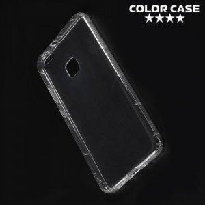 Силиконовый чехол для Huawei P10 Lite противоударный - Прозрачный