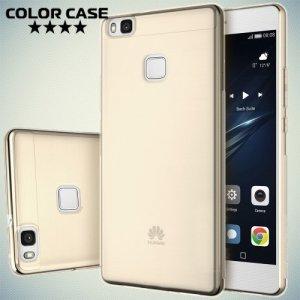 Золотой силиконовый чехол для Huawei P9 lite