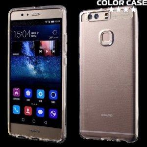 Силиконовый чехол для Huawei P9 Plus - Глянцевый Прозрачный