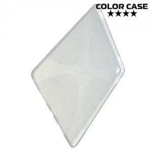 Силиконовый чехол для iPad Pro 9.7 - X-образный Серый