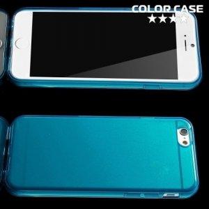 Силиконовый чехол для iPhone 6S / 6 - Глянцевый Синий