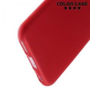 Силиконовый чехол для iPhone 6S / 6 - Матовый Красный