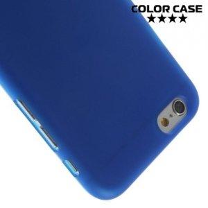 Силиконовый чехол для iPhone 6S / 6 - Матовый Синий