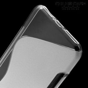 Силиконовый чехол для iPhone 8 Plus / 7 Plus - S-образный Прозрачный