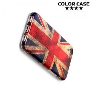 Силиконовый чехол для iPhone 8/7 - с рисунком Британский флаг