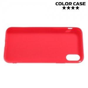Силиконовый чехол для iPhone 8 - Глянцевый Красный