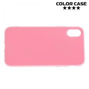 Силиконовый чехол для iPhone 8 - Глянцевый Розовый
