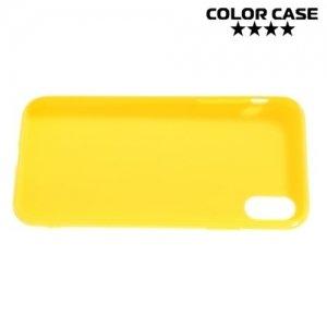 Силиконовый чехол для iPhone 8 - Глянцевый Желтый