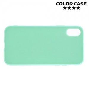 Силиконовый чехол для iPhone 8 - Глянцевый Зеленый