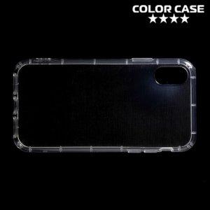 Силиконовый чехол для iPhone 8 противоударный - Прозрачный