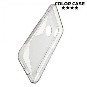 Силиконовый чехол для iPhone 8 - S-образный Серый