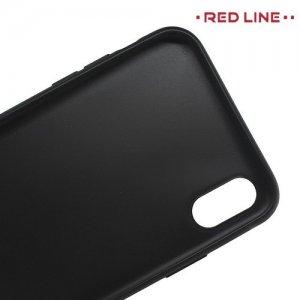 Силиконовый чехол для iPhone XS Max - Матовый Черный