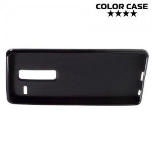 Силиконовый чехол для LG Class H650E - Матовый Черный