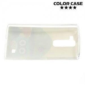 Силиконовый чехол для LG G4c H522Y - с рисунком Совы