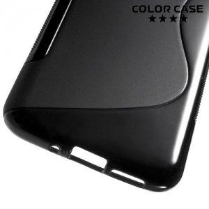 Силиконовый чехол для LG G5 - S-образный Черный