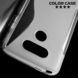 Силиконовый чехол для LG G5 - S-образный Прозрачный