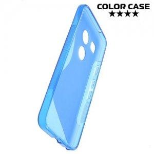 Силиконовый чехол для LG Nexus 5X - S-образный Синий