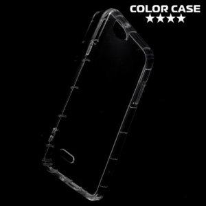 Силиконовый чехол для LG Q6 M700AN / Q6a M700 противоударный - Прозрачный