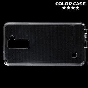 Силиконовый чехол для LG Stylus 2 - Глянцевый Прозрачный