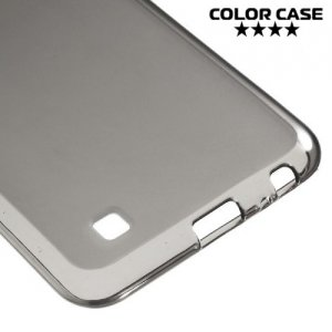 Силиконовый чехол для LG X cam - Матовый Черный