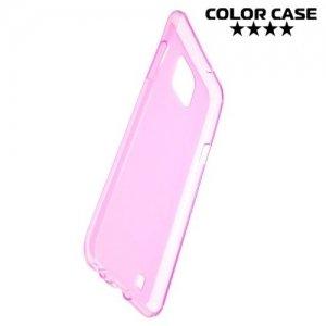 Силиконовый чехол для LG X cam - Матовый Розовый