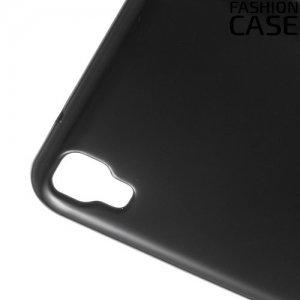 Силиконовый чехол для LG X Power K220DS - Глянцевый Черный