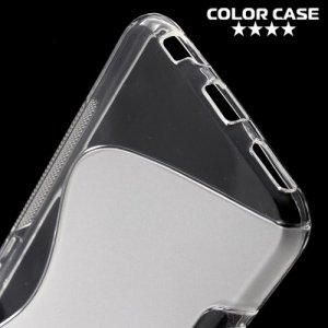 Силиконовый чехол для LG X view - S-образный Прозрачный