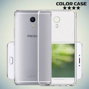 Силиконовый чехол для Meizu M3 Max - Глянцевый Прозрачный