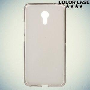 Силиконовый чехол для Meizu M3 Note - Матовый Серый