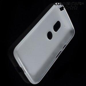 Силиконовый чехол для Motorola Moto G4 / G4 Plus - Матовый Белый