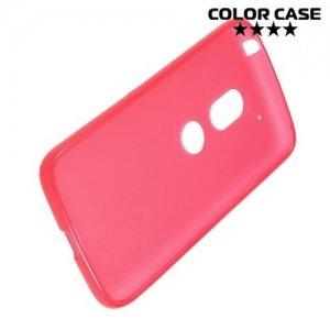 Силиконовый чехол для Motorola Moto G4 / G4 Plus - Матовый Красный