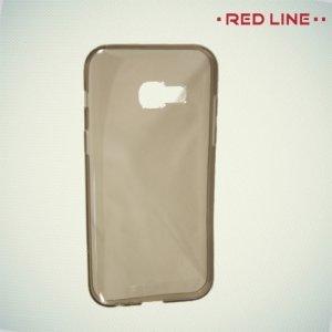 Red Line силиконовый чехол для Samsung Galaxy A3 2017 - Серый