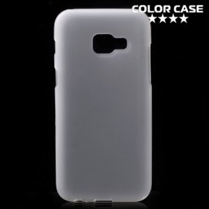 Силиконовый чехол для Samsung Galaxy A3 2017 SM-A320F - Матовый Белый