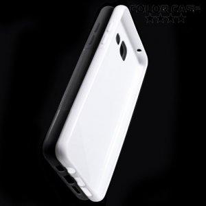 Силиконовый чехол для Samsung Galaxy A5 2016 SM-A510F - S-образный Белый