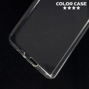 Силиконовый чехол для Samsung Galaxy A8 Plus 2018 - Глянцевый Прозрачный