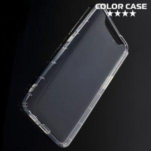 Силиконовый чехол для Samsung Galaxy A80 / A90 противоударный - Прозрачный